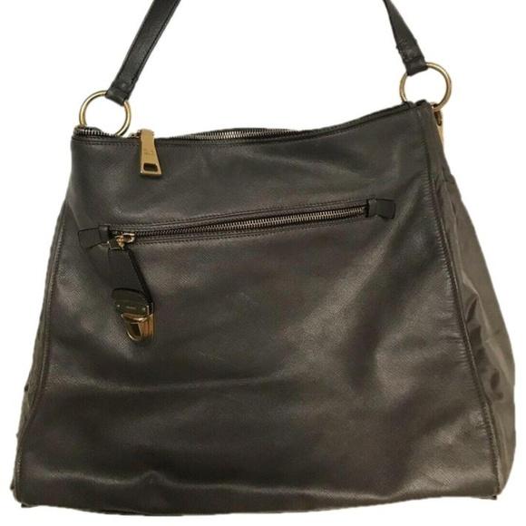 09f5751ea555 Prada Bags | Large Grey Saffiano Leather Tote W Nylon Co | Poshmark